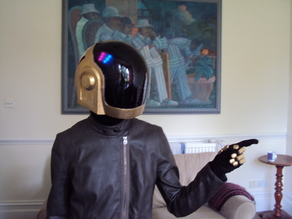 Guy-Manuel de Homem-Christo Daft Punk Helmet with Programmable LED Lighting