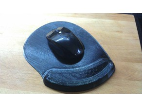 Mouse Mat with Wrist Rest