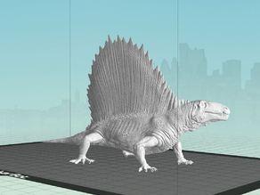 Dimetrodon model