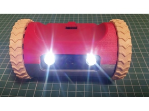 "ZeroBot - ""Off-Road"" Version -- Raspberry Pi Zero FPV Robot"