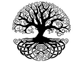 Celtic Tree Coaster