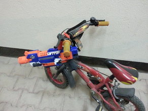 Nerf Gun bike Mount