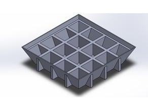 4x4 plant holder