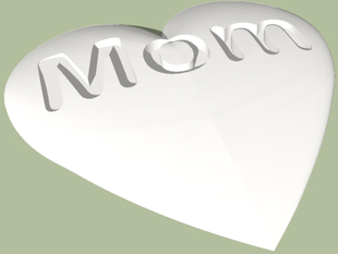Heart for Mother's Day