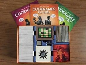 Codenames game insert (Original + Pictures + Duet)