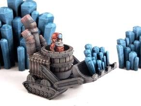 Gnomedozer, Snap-fit Model