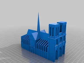 Model of Notre Dame de Paris