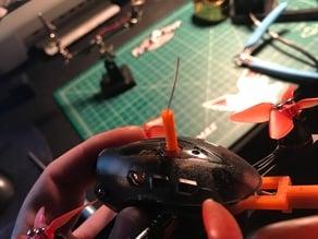 Babyhawk-R VTX and RX antenna holder