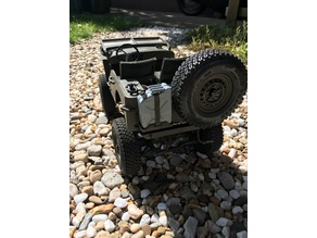 Spare Tire Holder (MB Jeep)