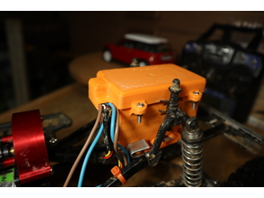 RC CAR RECEIVER-ESC WATERPROOF BOX