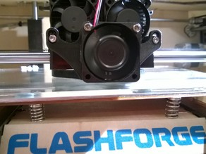 Flash Forge Cooling Fan Duct