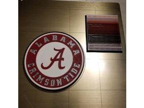 Alabama Crimson Tide Fridge Magnet (4 colors)