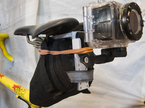 Seat Wedge Receiver for GoPro or Swann Camera system