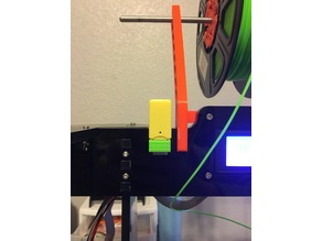 Anet A8 Yellow SD Holder