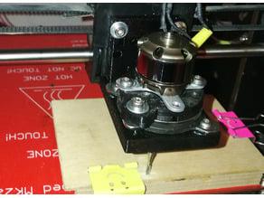 CNC fun spindle motor holder