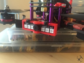 Martian 220mm TBS Micro RX & LED + Buzzer Plate