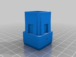 Garden Chair Foot 25x25 mm 15 mm high