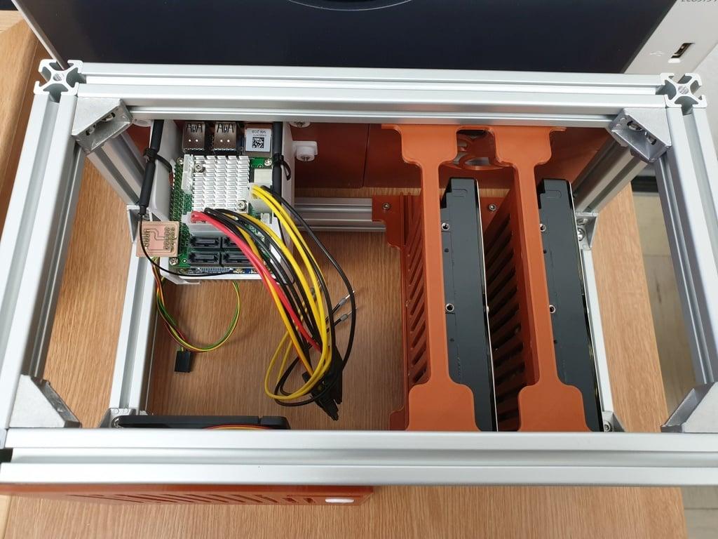 NanoPi M4 DiskStation / SATA NAS / Up to 56 TB Network