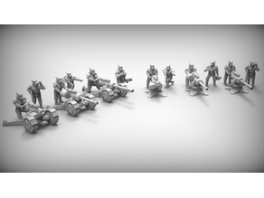 HEAVY WEAPONS - GUARD DOGS 28mm (RESIN)