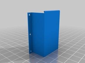 Simple 9v-block battery holder