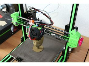 Anet E10 X-Axis Guide Rod System Complete - IGUS Bearing
