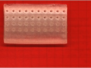 Channel calibration plate (for microfluidics)