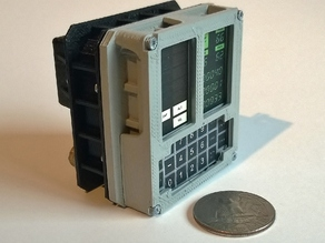 Mini Apollo Guidance Computer DSKY Module