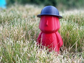Filla Fella with Bowler Hat (no glue)