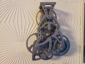 Mouvement échappement Spiral - Escapement Spiral