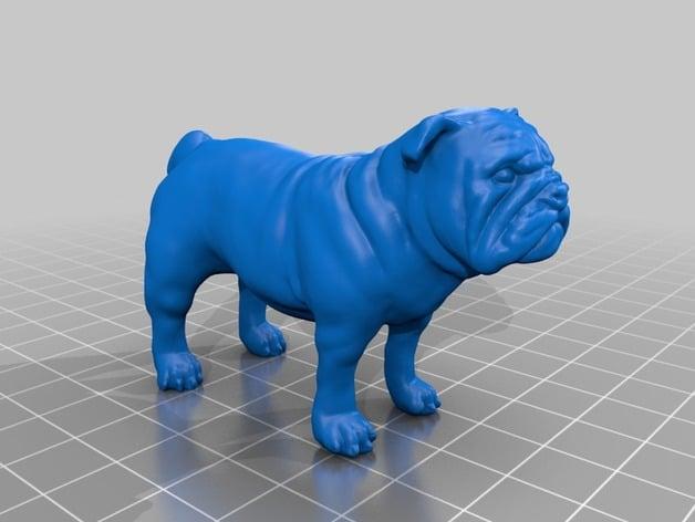 Bulldog By Yahoojapan Thingiverse