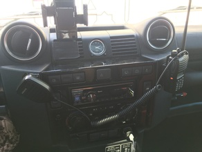 Motorola 338Plus UHF Radio Vehicle Mount