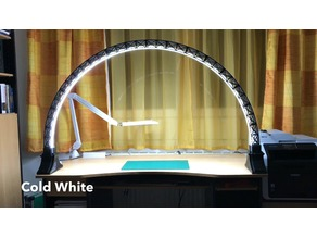 Led Bridge Lamp  (scaled 95%) Universal Segment with wider LED-Channel