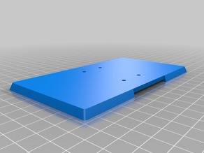 Wanhao D7 build plate drainer