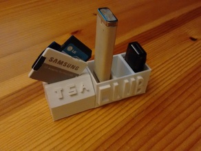 USB and SD Card Holder