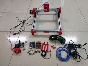 Mini CNC Laser Engraver - Version 1.1.0