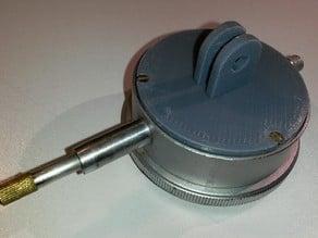 Dial indicator mount like GoPro style