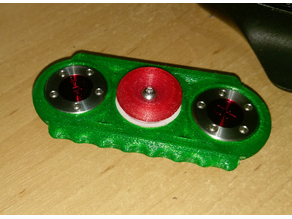 V8 Tungsten Fidget Spinner.. Micro balanceable!! :-)