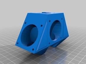 FolgerTech Kossel Hot end cooling manifold