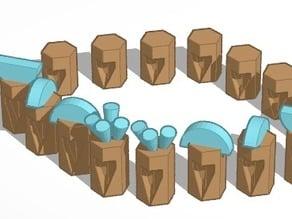 MODEL Roman Chess LEGION