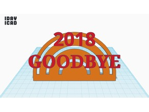 [1DAY_1CAD] 2018 GOODBYE