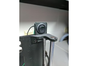 Prusa i3 Hephestos Power Switch Mount 20mm- Left and Right versions