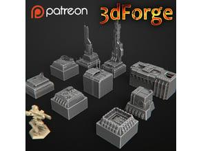 Building battletech & Warhammer 40k