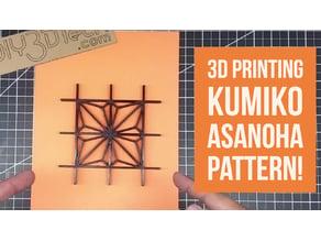 Kumiko Design -  Asanoha!