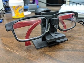Eyeglass/Sunglass holder v2