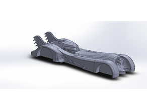 Pinewood Derby Batmobile