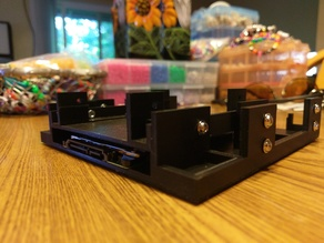 """5.25"""" to 1x 3.5"""" and 1x 2.5"""" Drive Adapter V2"""
