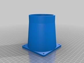 Cone de ventilateur 90 mm extraction imprimante 3d