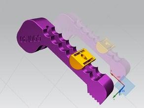 CNC  morsetto da tavola (d. 6mm.) - CNC table clamp (d. 6mm.)