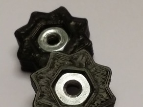 Star nut housing (for printer boards)