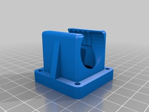 e3D/Jhead All Metal Hotend, Fan Holder for 40mm fans too